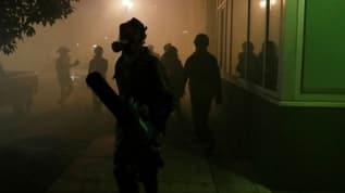 ABD'nin Portland kentindeki protestolarda 14 gözaltı