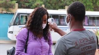 Afrika'da koronavirüs salgınında  vaka sayısı 1 milyon 450 bini geçti