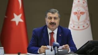 Bakan Koca: Türkiye'de iyileşenlerin sayısı 274 bin 514'e yükseldi