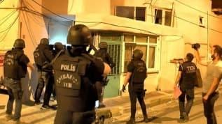 İstanbul'da terör operasyonu! Çok sayıda gözaltı var