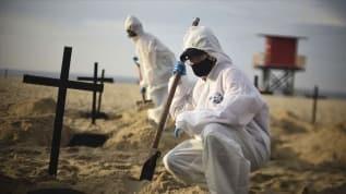 Meksika, Brezilya ve Hindistan'da ağır koronavirüs bilançosu