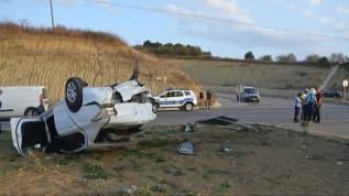 Tekirdağ'da cip ile otomobil çarpıştı: 3 yaralı