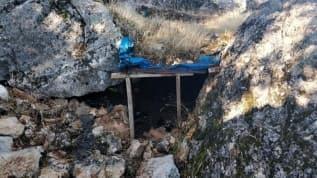 Tunceli'de PKK'lı teröristlere ait sığınaklar yerle bir edildi