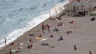 Antalya'da, nem oranı yüzde 80'e kadar ulaştı