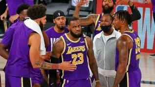 Los Angeles Lakers 10 yıl aranın ardından NBA finalinde
