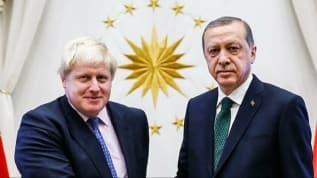 Başkan Erdoğan, İngiltere Başbakanı Johnson ile telefonda görüştü