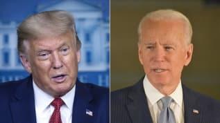 Biden, Trump'ın yüzde 2 önünde