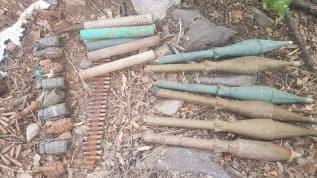 Irak'ın kuzeyinde PKK'ya darbe! Çok sayıda silah ve mühimmat ele geçirildi