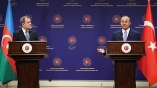 Bakan Çavuşoğlu, Azeri mevkidaşı ile telefonda görüştü