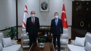 KKTC Başbakanı Tatar: Kıbrıs'ta egemen eşitlik temelinde bir anlaşmadan yanayız