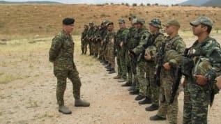 Görüntüler ortaya çıktı: Ermeni özel harekat birliklerini Yunanistan eğitmiş!