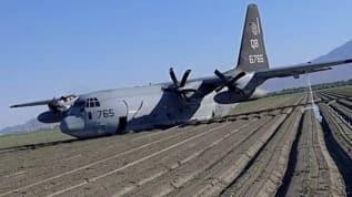 Yakıt ikmalini beceremeyen ABD'ye ait iki uçak düştü