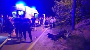 Aydın'da motosiklet kazası: 1 ölü, 1 yaralı