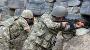 Ermeni askerleri mevzileri bırakıp topukladı