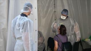 Fransa'da son 24 saatte 12 bin 845 Kovid-19 vakası tespit edildi