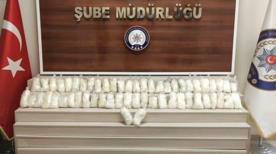 Van'da uyuşturucu tacirlerine operasyon! 15 kilo ele geçirildi