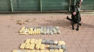 Adana'da uyuşturucu operasyonu! 32 kilo eroin yakalandı