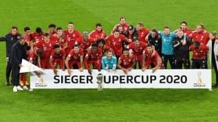 Bayern Münih Almanya Süper Kupası'nın sahibi oldu