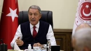 Milli Savunma Bakanı Akar'dan Ege ve Doğu Akdeniz açıklaması: Bu tür iddialar, ne gerçekçi ne de adildir