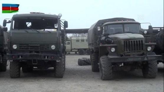 İşgalci Ermenistan askerleri silahlarını bırakıp kaçtı
