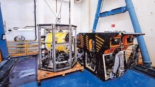 Doğal gaz keşfinin gizli kahramanı: 'Kaşif' su altı robotu