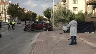 Konya'da korkunç kaza