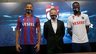 Trabzonspor'da Vitor Hugo ve Semedo imzayı attı