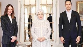 Emine Erdoğan'dan Cenk Küpeli ve Demet Şener çiftine çocuk tavsiyesi