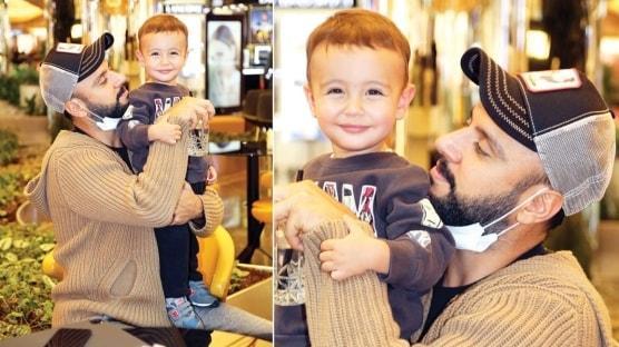 Oğluyla renkli karelere imza atan Alişan'ın yeni bebek heyecanı