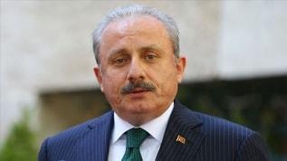 """TBMM Başkanı Şentop, Azerbaycan Milli Meclisi'ne seslendi """"Minsk'in beyin ölümü gerçekleşti"""""""
