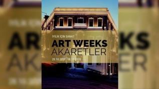 İyilik İçin Sanat Artweeks@Akaretler'de