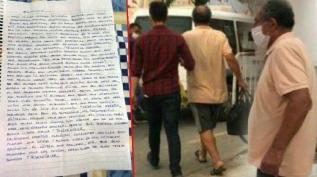 13 yaşındaki kıza skandal mektup! Sapık kırtasiyeci tutuklandı!