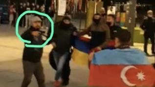 Avrupa ülkesinde Azerbaycan destekçilerine alçak saldırı