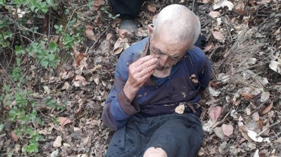 Kayıp olarak aranıyordu... Yaşlı adam boş arazide yaralı halde bulundu