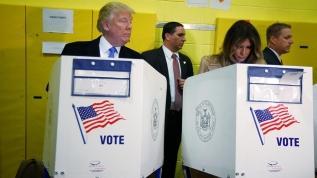 Trump ABD Başkanlık seçimleri için kime oy verdiğini açıkladı