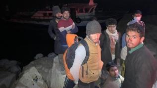 Van'da 22 kaçak göçmen yakalandı!