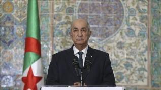 Yakın çevresinden biri pozitif çıkınca Cezayir Cumhurbaşkanı Tebbun kendini karantinaya aldı