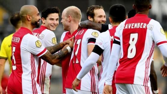 Yok böyle bir maç! Ajax gol oldu yağdı! 13-0