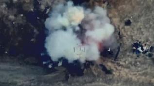 Azerbaycan ordusu vura vura ilerliyor! Hedefler böyle imha edildi