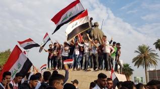 """Irak'ta, """"25 Ekim protestoları""""nın yıl dönümü dolayısıyla geniş katılımlı gösteriler bekleniyor"""