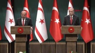 Başkan Erdoğan ve Ersin Tatar'dan önemli açıklamalar