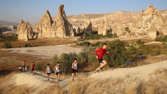 Kapadokya'da şampiyona hazırlığı