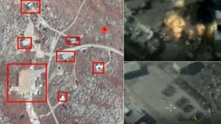 Rus savaş uçakları İdlib'i vurdu: Çok sayıda asker hayatını kaybetti