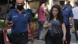 Yardım çığlıklarına polis yetişti! Eve kilitlenen kadın kurtardı
