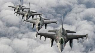 Türk F-16'ları havada görürsünüz