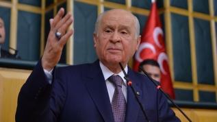 MHP lideri Bahçeli'den sert sözler! Siyasi şizofren