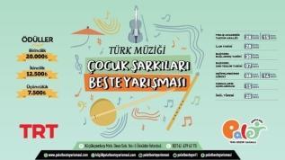 Türk müziği çocuk şarkıları beste yarışması