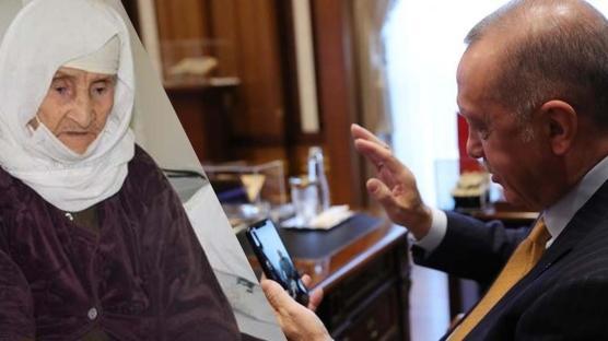 Başkan Erdoğan, Menica nine ile görüştü