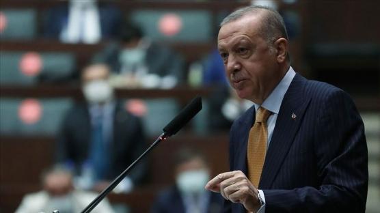 Başkan Erdoğan'dan karikatür tepkisi: Namussuzlar