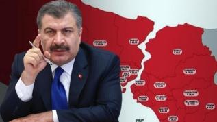 Bakan Koca 29 Ekim Türkiye'nin koronavirüs tablosunu paylaştı